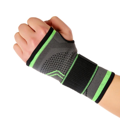 Mumian S21 Three - Dimensional Weaving Compression Adjustable Wrist Pad - 1PCS