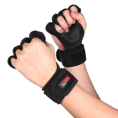 Mumian F02 Pair of Cycling Fitness Half Finger Sport Gloves