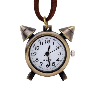 Vintage Small Alarm Clock Pocket Watch