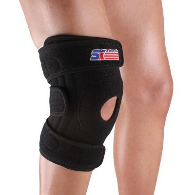 ShuoXin SX616 Adjustable Silicon 4 - spring Sport Knee Guard Protector