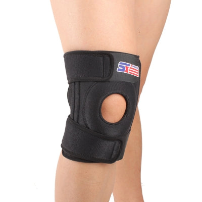 SX520 4 Spring Support Adjustable Sports Knee Brace Pad