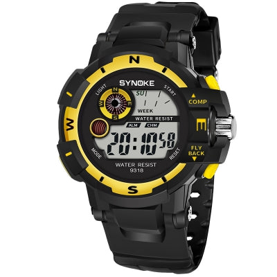 SYNOKE 9318 Outdoor Sports Electronic Watch Waterproof Electronic Watch