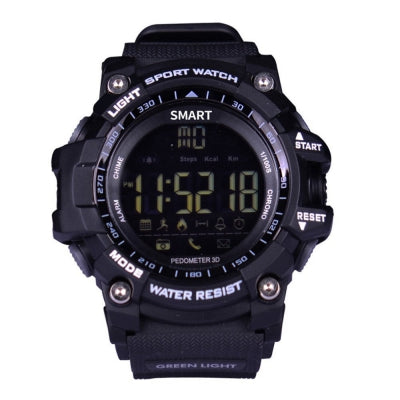 ST 12 Men's Digital BluetoothSports Watch LED Screen Large Face Military Watches and Waterproof Casual Luminou......