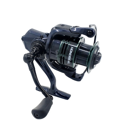 HONOREAL 5000 Aluminum Spool 9+1 BB Spinning Fishing Reel with Free Spare Graphite Spool  for Freshwater and S......
