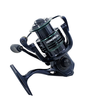 HONOREAL 2000 Aluminum Spool 9+1 BB Spinning Fishing Reel with Free Spare Graphite Spool  for Freshwater and S......