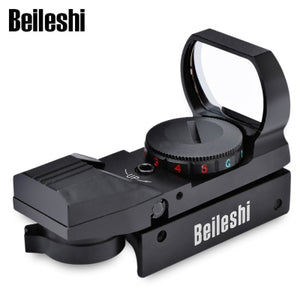Beileshi Hunting Holographic Reflex Red Green Dot Sight Scope