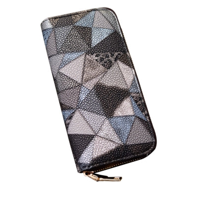 Women's Purse Colorblock Chic Geometric Ladylike Bag