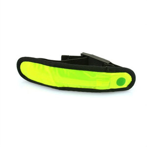 LED Safety Reflective Light Shine Flash Glowing Luminous Armband Arm Belt Band Wrist Support Hand Strap Wristb......