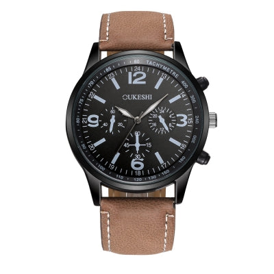 OUKESHI New  Simple Style Fashion Men Quartz  Watch