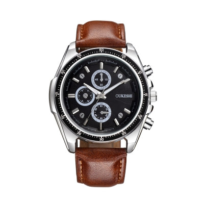 OUKESHI Fashion Men Quartz Analog Watch