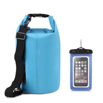 10L Waterproof Gear Storing Dry Bag and Floating Waterproof Phone Case for Swimming Kayaking Rafting Boating C......