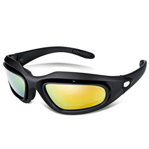 C6 Outdoor Sports Sun Glasses Tactical Cycling Goggles