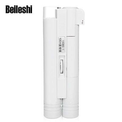 Beileshi Handheld 100X LED Magnifier Microscope