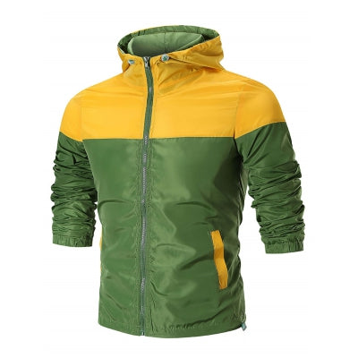 Zip Up Waterproof Hooded Jacket