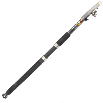 High Quality 2.1m 5 Section Carbon Freshwater Saltwater Telescopic Fishing Rod