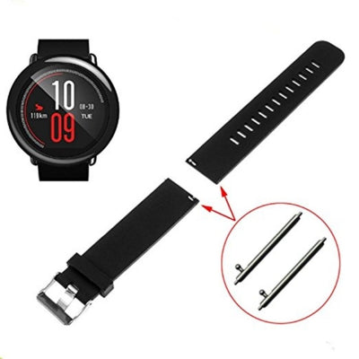 Soft Silicone Watch Bands Strap for Amazfit Huami Classic watch Replacement