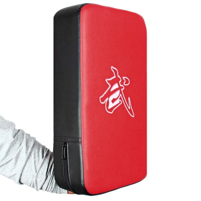 PU Leather Rectangle Strike Punching Kicking Pad Arm Shield Target for Focus Training of Boxing Karate Muay Th......