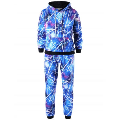 Galaxy Hoodie with Jogger Pants