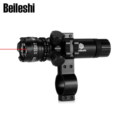 Beileshi Hunting Rifle Red Laser Sight Dot Scope with Rail Mount