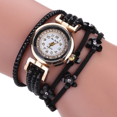Fanteeda FD037 Women Fashion Wrapping wrist Watch