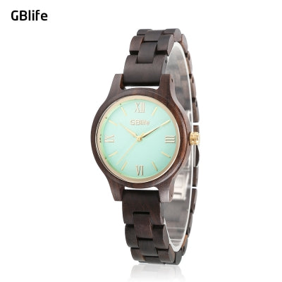 GBlife WF - 001 Women Quartz Wooden Watch
