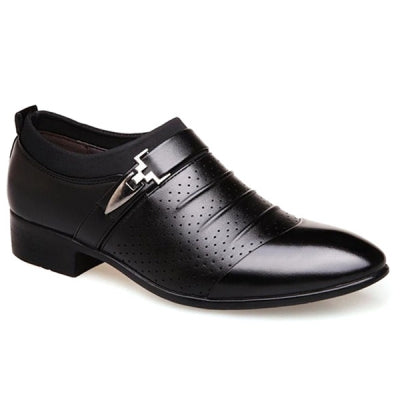 Faux Leather Breathable Formal Shoes