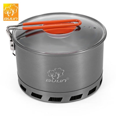 BULIN S2500 2 - 3 Person 2.1L Camping Heat Exchanger Pot