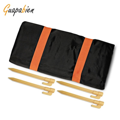 Guapabien Water-resistant Beach Picnic Blanket with 4 Stakes