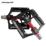 Shanmashi 4.6 Bike 6 Bearings Pedal Wide Non-slip Foot Plate