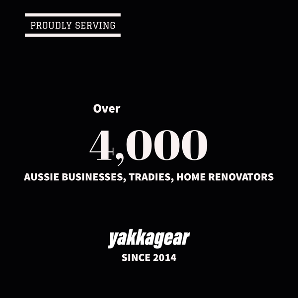 Proudly serving over 4,000 Aussie businesses, tradies, renovators