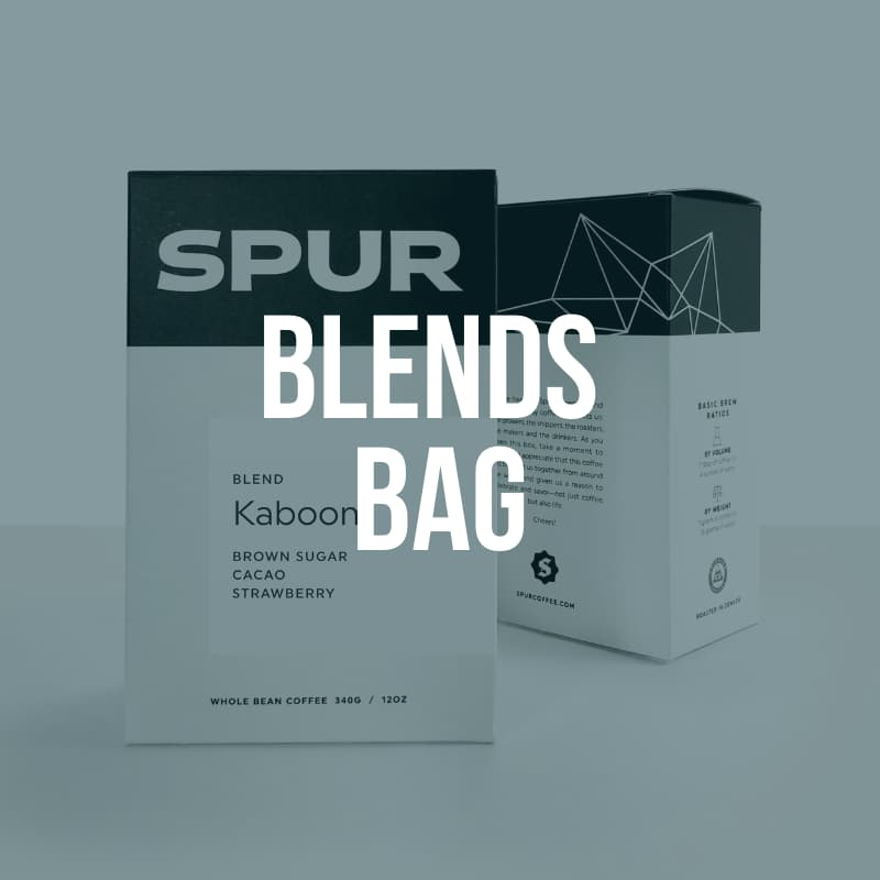 (12 oz) Blends Coffee Bag - Native Coffee Club