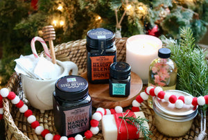 4 Homemade Holiday Gift Ideas using Honey
