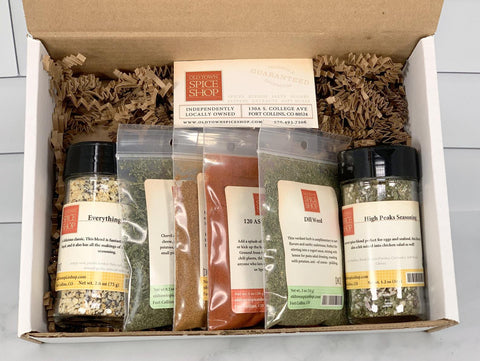 sunday brunch gift box old town spice shop