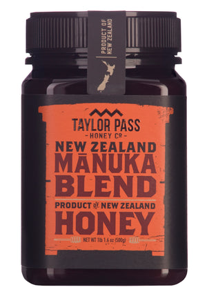 Taylor Pass Honey Co Manuka Blend Honey 1lb 1.6oz