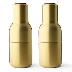 Menu Bottle Grinder Brushed Brass