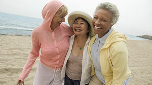 mid-life women living holistic  healthy fun