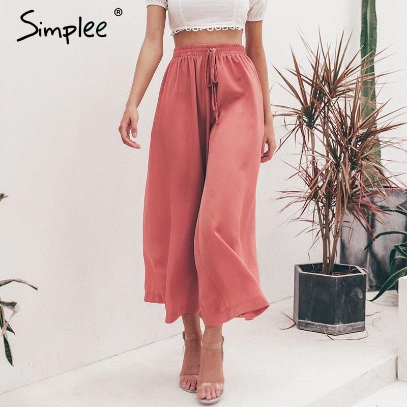 V.I.B.E. Best Seller -  Wide Leg Pants w/Pockets