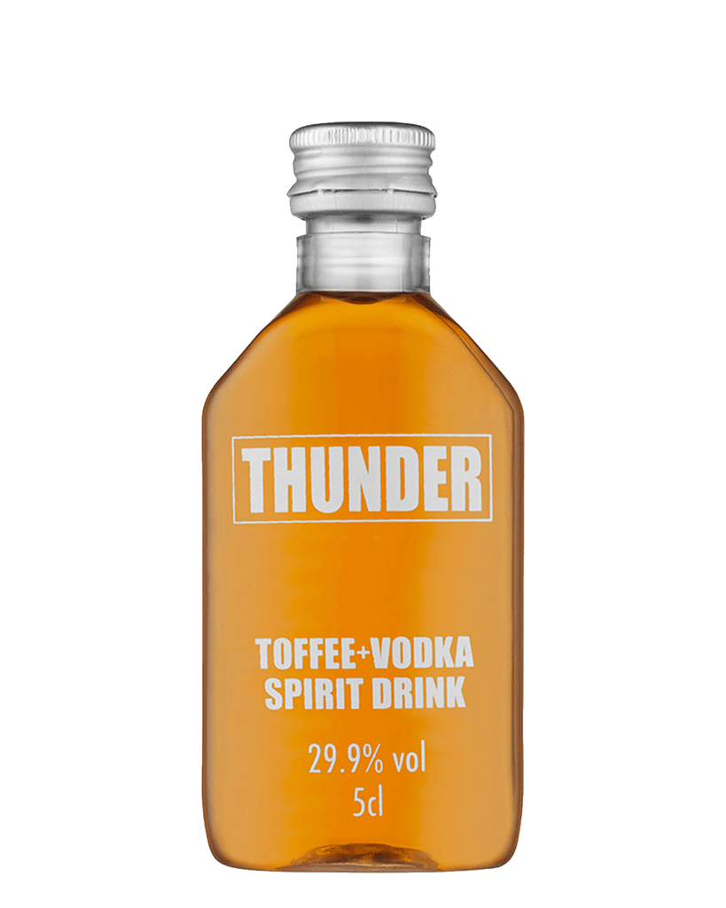 Thunder Toffee Vodka Miniature, 5 cl