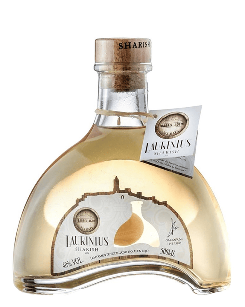 Sharish Laurinius Barrel Aged Gin, 50 cl