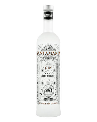 Image: Santamania & Four Pillars Collaboration Gin, 70 cl