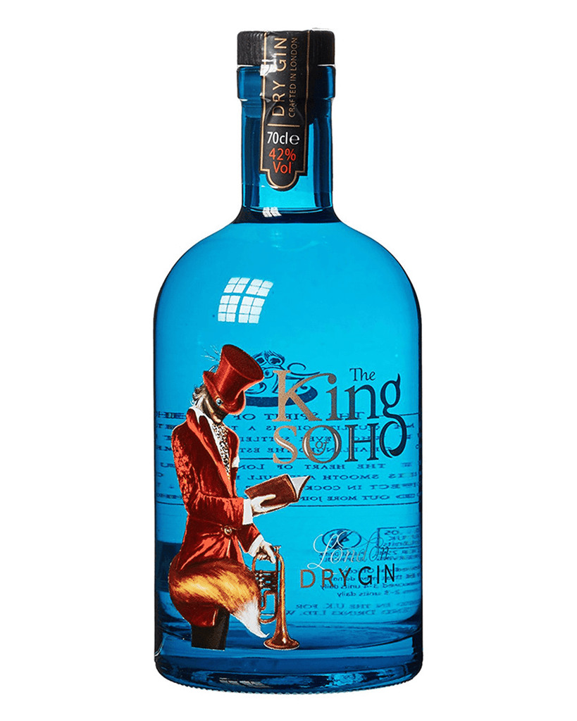 King of Soho Gin, 70 cl