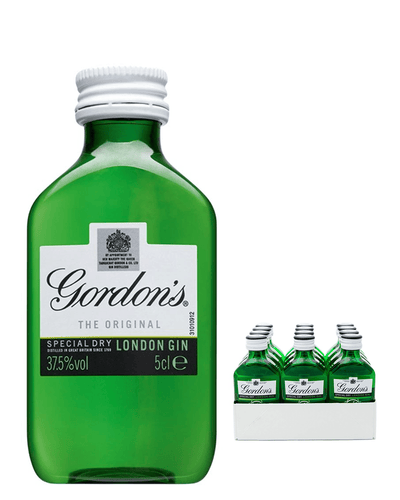 Image: Gordon's London Dry Gin, 12 x 5 cl Miniature Pack