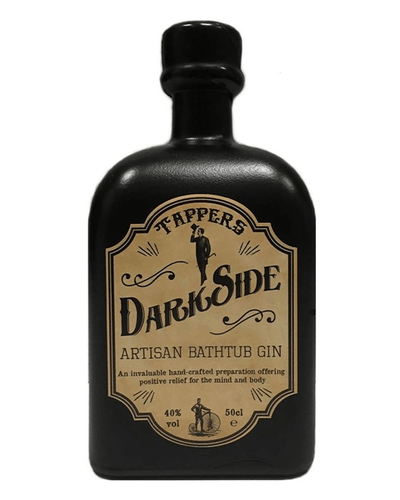 Image: Tappers Darkside Gin, 50 cl