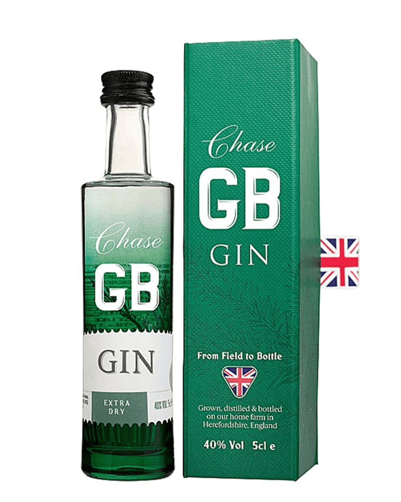 Chase GB Gin Miniature Gift Box, , 5 cl