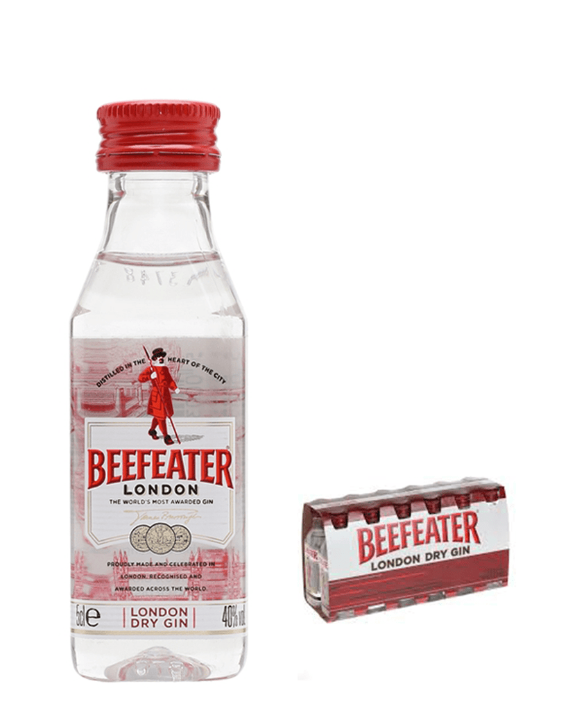 Beefeater Gin, 12 x 5 cl Multipack