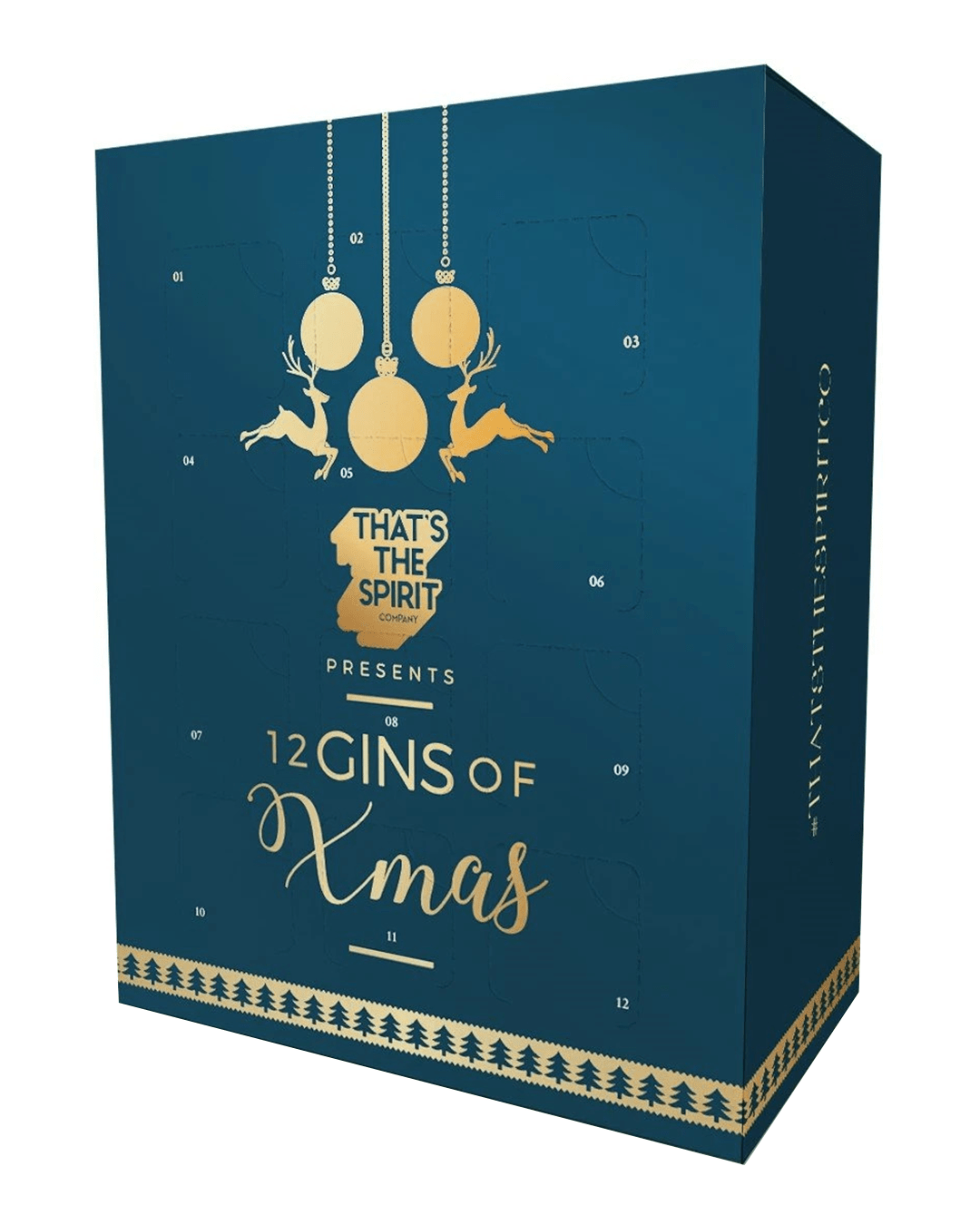 12 Gins of Xmas Advent Calendar, 12 x 5 cl