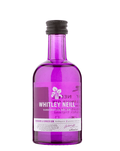Image: Whitley Neill Rhubarb & Ginger Gin Miniature, 5 cl