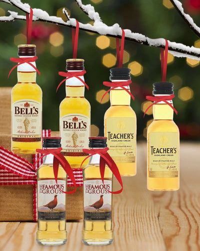 Image: PRE-ORDER Merry Baubles - Blended Scotch Whisky Miniature Set