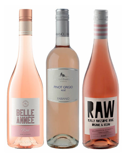 Image: 3 for £30 Rose Wine Pack, 3 x 75 cl