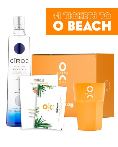 Image: O Beach x The Bottle Club Cîroc VIP Gift Box